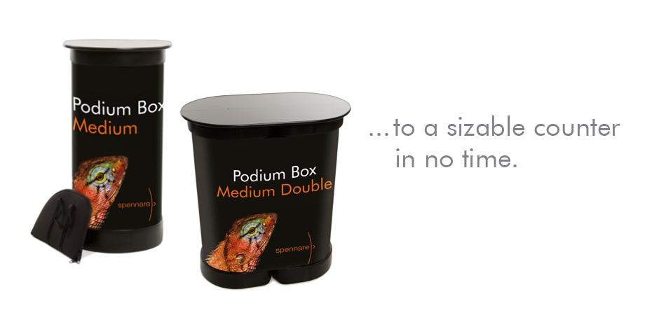 Podium Box Medium